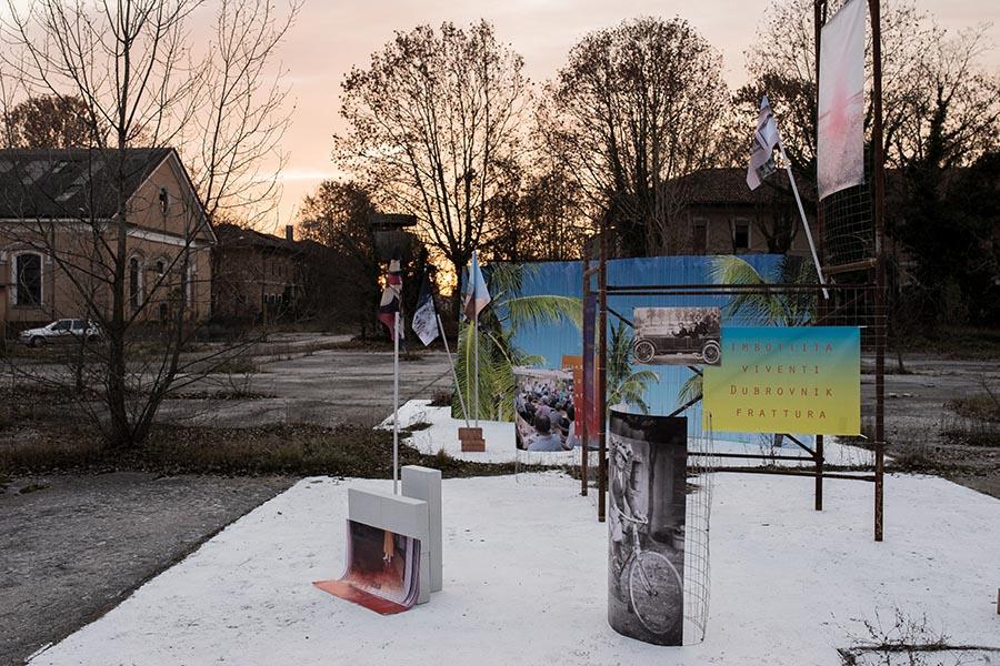"""""""Cose che hai fatto mentre non c'era la guerra"""", progetto di Filippo Minelli realizzato per Bandus/Storie in corso, Udine"""