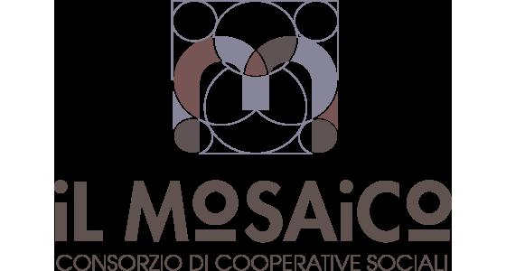 Logo Consorzio di cooperative sociali il Mosaico