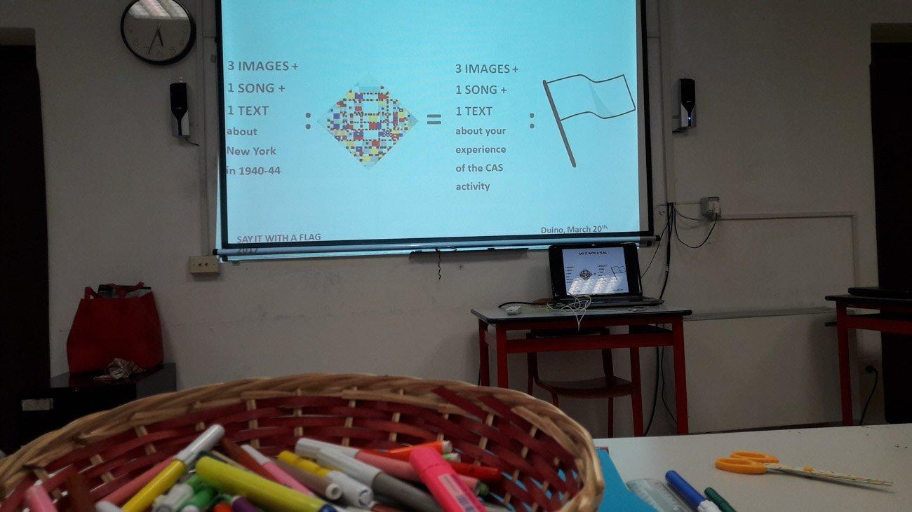 Workshop ideato per gli studenti di UWCAD di Duino: istruzioni