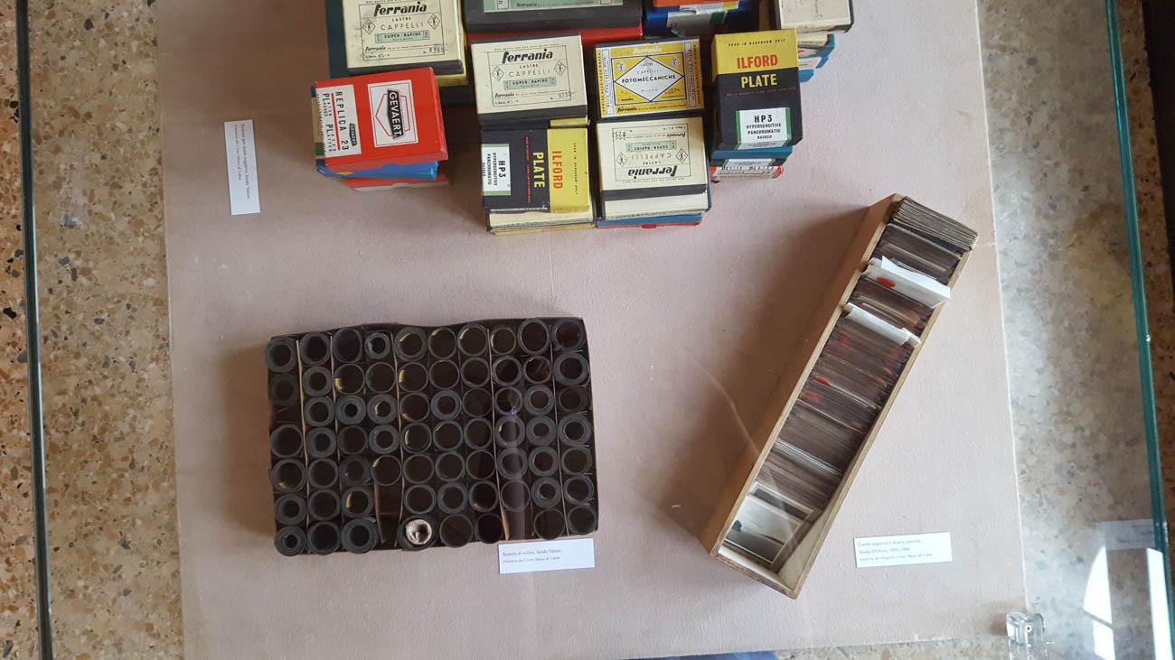Parte dell'allestimento della mostra BelVedere curata da ERPAC